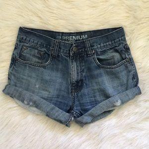 Vintage|Cut Off Denim Shorts